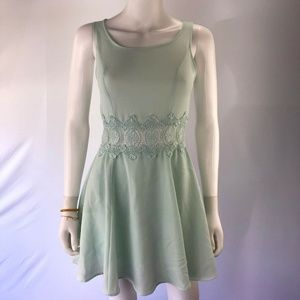 Divided by H&M 4 Green Sleeveless A Line Dress